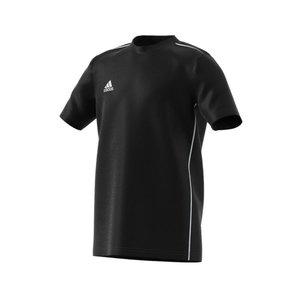 Adidas core 18 tee junior zwart FS3249