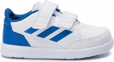 Adidas altasport CF Infants wit blauw D96844