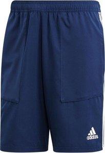Adidas tiro 19 woven short donkerblauw wit DT5782