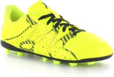 Adidas X15 4 fxg junior geel zwart B32788