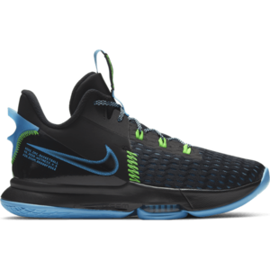 Nike LeBron witness 5 zwart blauw CQ9380004