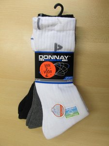 Donnay molecule 3 pack mixed colours