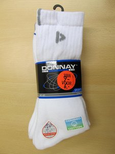 Donnay molecule 3 pack wit 470050BF