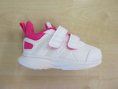 Adidas hyperfast 2 0 cf infant wit rose aq3842