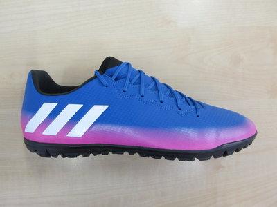 Adidas Messi 16 3 tf blauw wit pink s77051