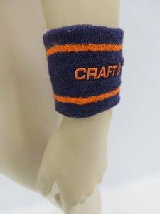 Craft zweetband pols 2 stuks paars oranje 19033412463