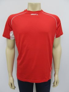 Craft shirt tee T&F heren rood 19012352430
