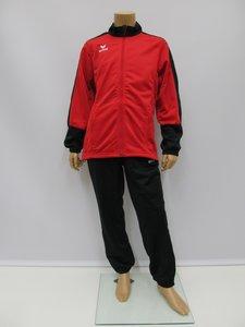 Erima toronto 2 0 shiny suit junior rood zwart 302600