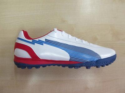 Puma evospeed 5 tt wit blauw rood 10258801