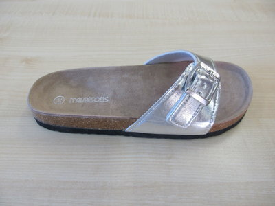 Maui and Sons ds aponi silver leather dames 030100763vw