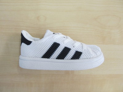 Adidas superstar infant wit zwart bb2970