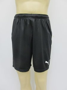 Puma liga short core zwart wit 70343603