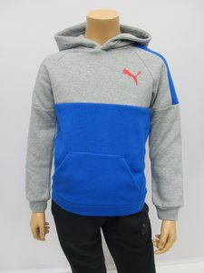 Puma hoody medium grey heather junior 59248603