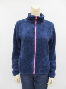 Amigo fleece jacket dames navy 222482