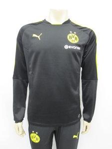 Puma BVB training sweat zwart geel 75177502