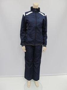 Hummel stockholm taslan suit dames navy wit 101600720