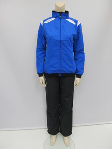 Hummel stockholm taslan suit dames royal wit 1016005200