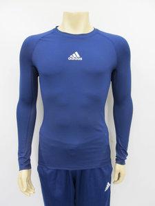 Adidas alphaskin thermoshirt longsleeve navy cw9489