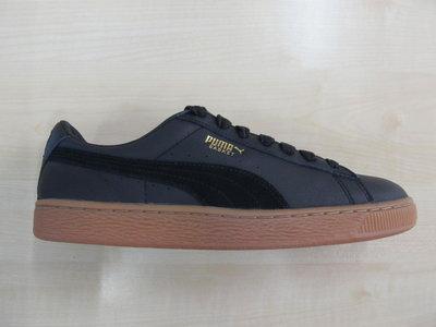 Puma basket classic gum deluxe zwart 36536602